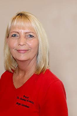 Medizinische Fachangestellte: Birgit Schreiner