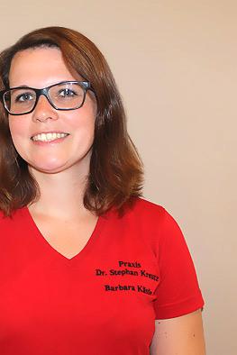 Medizinische Fachangestellte: Barbara Kästle